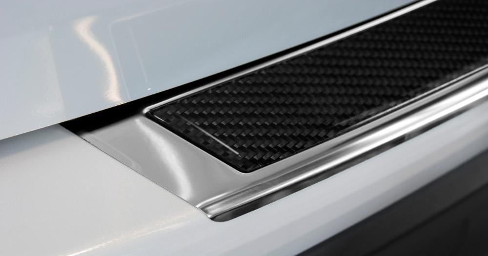 Steel Mirror +Black carbon fiber insert