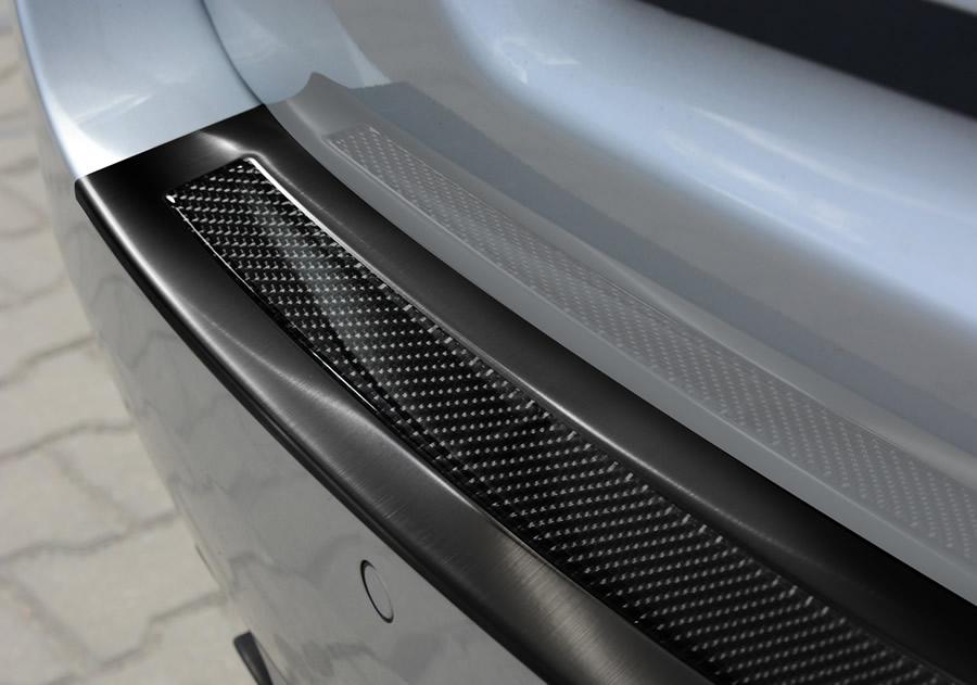 Black Steel +Black carbon fiber insert