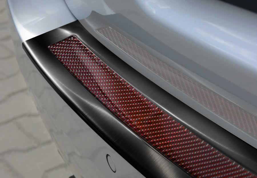 Black Steel + Red/Black carbon fiber insert